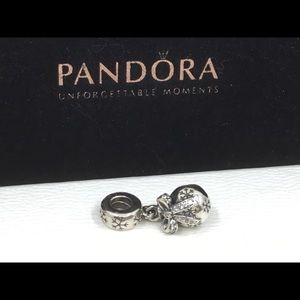 Pandora Retired Gorgeous CZ Ornament Charm
